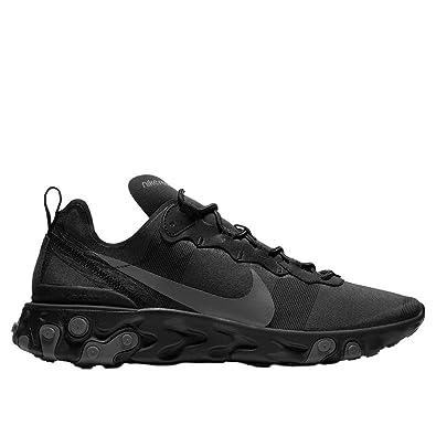 b1b5014c238a Nike React Element 55   Noir  Amazon.fr  Chaussures et Sacs