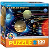united states and canada puzzle - The Solar System 100 Piece Jigsaw Puzzle
