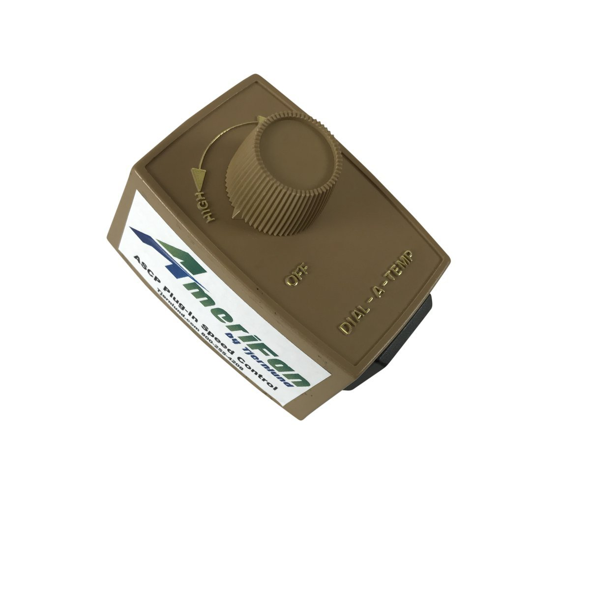 AmeriFan Duct Booster Exhaust, for Growing, Hydroponics, Heating, Cooling, Venting, HVAC, Steel, 120V Supply Voltage