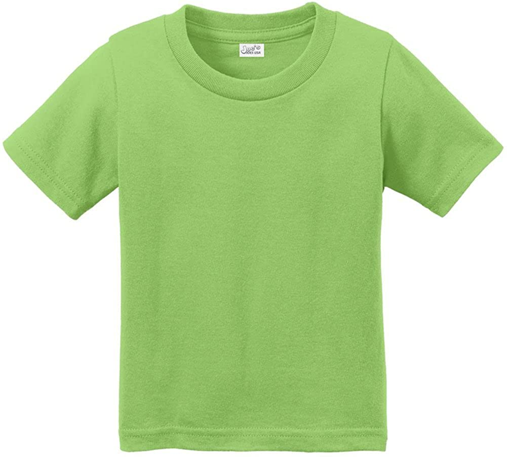 Joes USA Toddler Tees 4T 3T Sizes: 2T Soft and Cozy Cotton T-Shirts in 12 Colors
