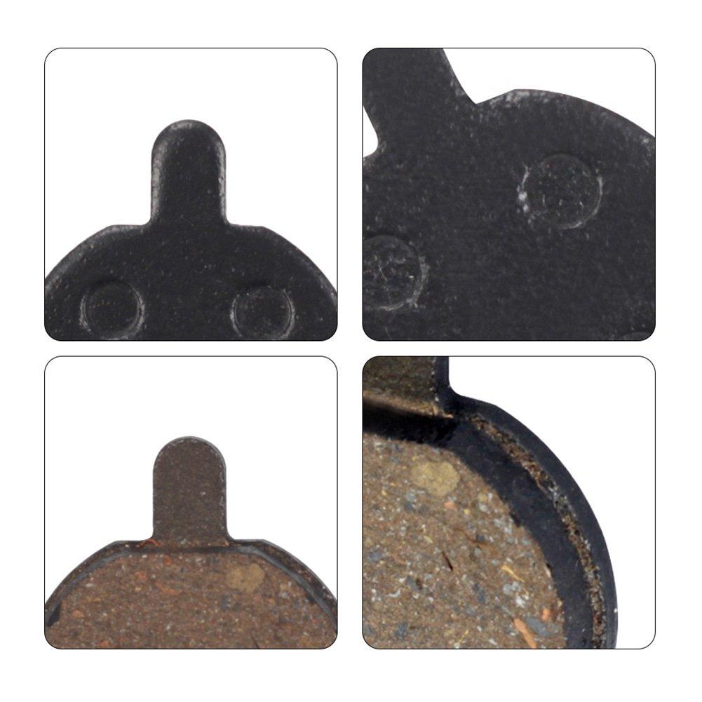 BIKEIN 4 Pairs Bicycle Bike Resin Disc Brake Pads For ZOOM DB280 DB550 DB450 DB350