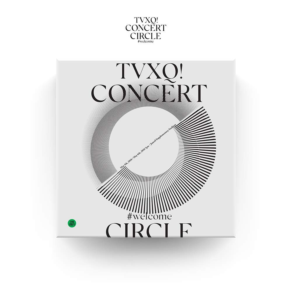 SM Entertainment TVXQ (東方神起) - TVXQ! Concert -Circle- #Welcome DVD 2DVD+Photobook+4Photocard+Folded Poster by SM Entertainment (Image #1)