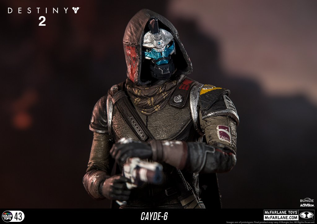 McFarlane Toys 13040-9 Destiny 2 Cayde 6 Collectible Action Figure by McFarlane Toys (Image #8)