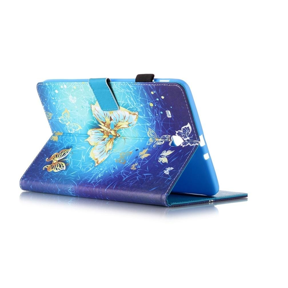 Galaxy Tab E9.6 Cover,Samsung T560 Galaxy Tablet Cover Ultra Slim Light Weight Cover for Samsung Galaxy Tab E 9.6 Stand Cover,Built-in Stand with Multiple viewing Angles,HX butterfly