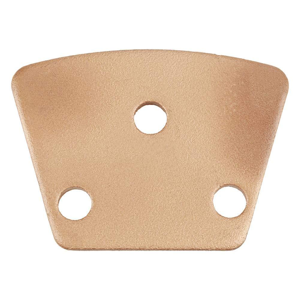 m/áquinas de pulido Almohadilla de pulido de diamante 3 agujeros 3 dientes redondos de superficie lisa Almohadilla de disco de pulido de diamante trapezoidal de hormig/ón para grano de molienda 30