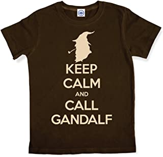 product image for Hank Player U.S.A. Keep Calm & Call Gandalf Men's T-Shirt