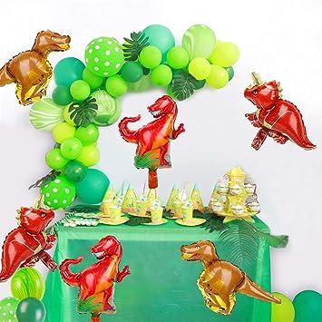 CactusFiesta Dinosaur Party Supplies Little Dino Decorations Set For Boy Jurassic World Park T Rex