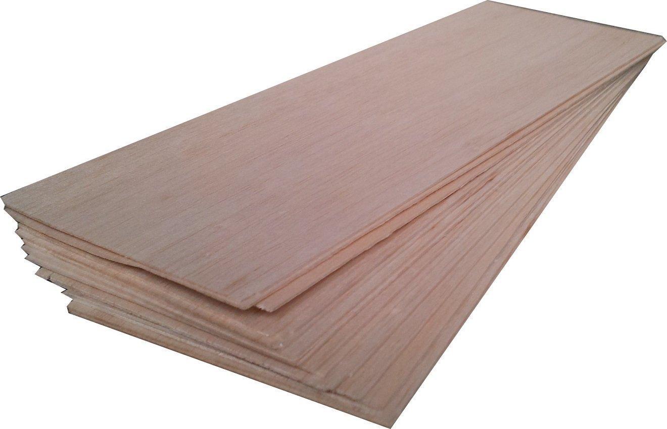 9 Laminas de madera de balsa .Desde 1mm a 8mm. Elige tu opción.