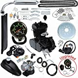 #3: Seeutek 80cc Bicycle Engine Kit 2-Stroke Gas Motorized Motor Bike Kit Upgrade with Speedometer