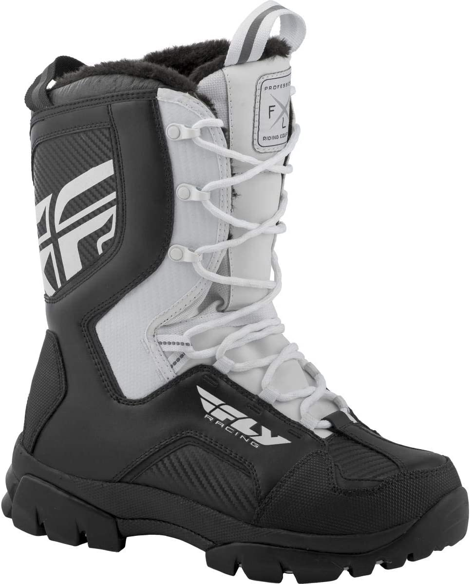 Fly Racing Marker Boots White, 9