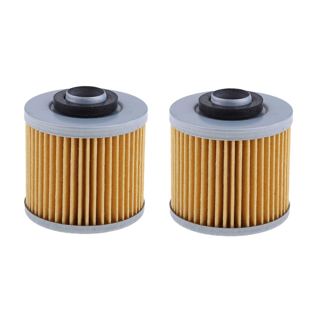 Homyl 2x Motorcycle Oil Filter Fit Yamaha XVS1100A V STAR 1100 Classic 2000-2008