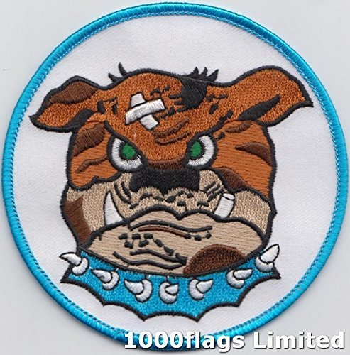 Us Air Force Squadron Patches - 525Fighter Squadron The Bulldogs US Air Force Embroidered Patch