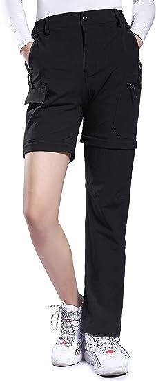 Hiauspor Women's Convertible Hiking Pants