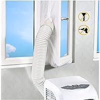 AirLock Raamafdichting, airconditioning uitlaat voor mobiele airconditioners en afvoer-wasdroger, airLock voor ramen…