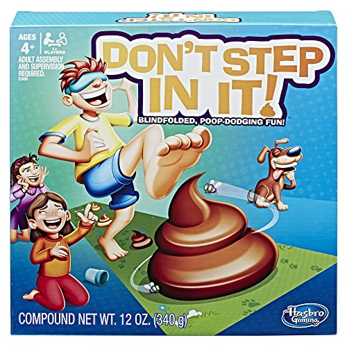 Don't Step In It game is a top toy for boys