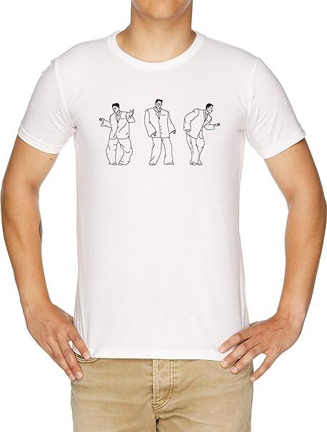 David Byrnes Grande Traje Camiseta Hombre Blanco: Amazon.es ...
