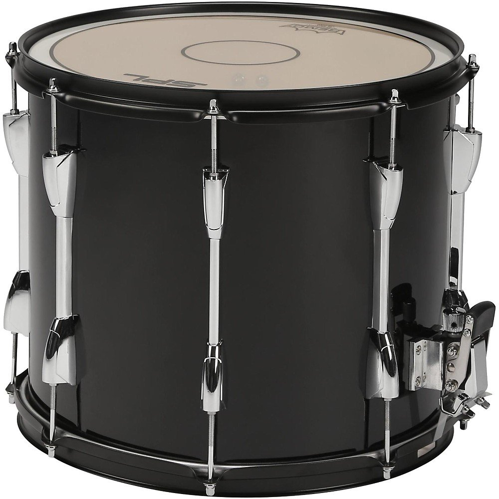 Sound Percussion Labs Marching Snare Drum with Carrier Level 2 14 x 12, Black 190839115041 by Sound Percussion Labs (Image #2)