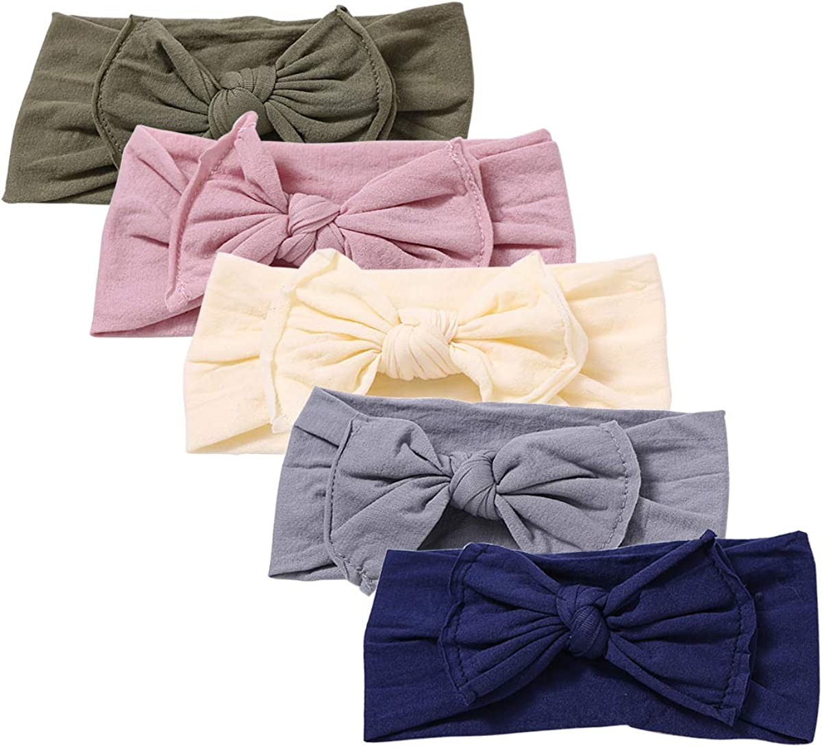 Baby Girl Headbands Newborn Infant Toddler Hairbands and Bows Child Hair Accessories
