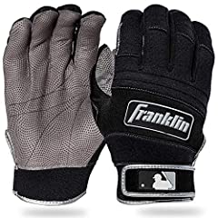 The Cold Weather Pro Series Batting Gloves from Franklin Sports features a insulated neoprene back that retains heat while still allowing the glove to breathe, the soft pro-boa wrist lining reduces closure friction and maximizes heat retentio...