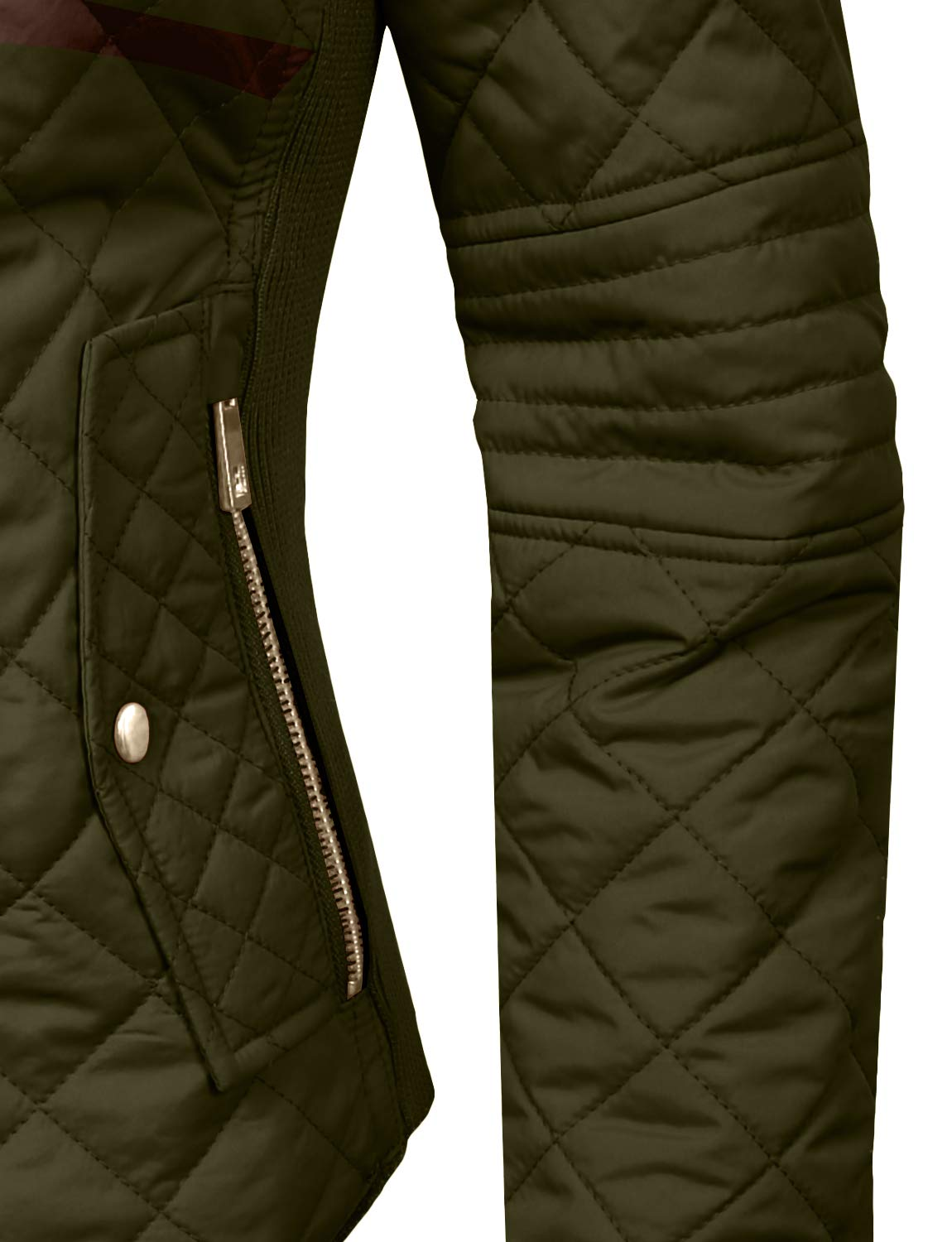 J. LOVNY Womens Lightweight Quilted Warm Zip Jacket/Vest with Pocket Details by J. LOVNY (Image #5)
