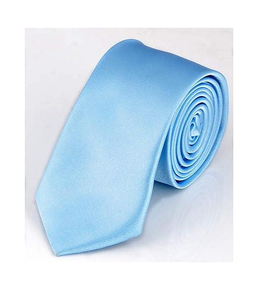 Meaningg-Mnes Tie-Corbata estrecha y delgada para hombres 5cm ...