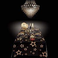 Boland 26783 VIP - Mantel, Color Negro/Dorado