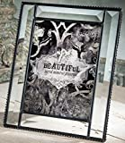 7x7 pic - J Devlin Glass Art Pic 354-57HV Beveled Glass 5x7 Picture Frame Table Top Photo Wedding Frame Keepsake