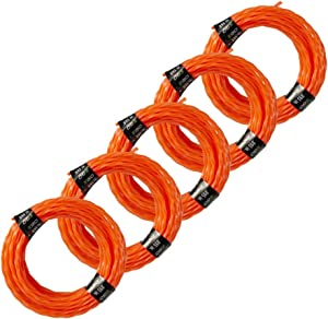 EGO Power+ AL2420P Pre-Cut 0.095-Inch Twisted Line (5-Pack) for EGO 56-Volt 15-Inch Trimmer & Multi-Head String Trimmer Attachment