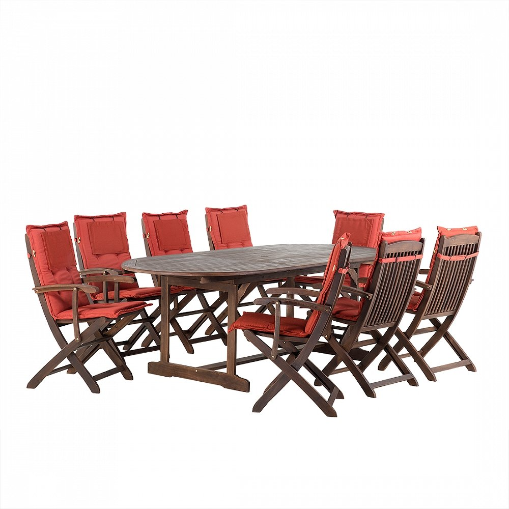 Gartenmobel Balkonmobel Holzmobel Tisch 8 Sessel 8