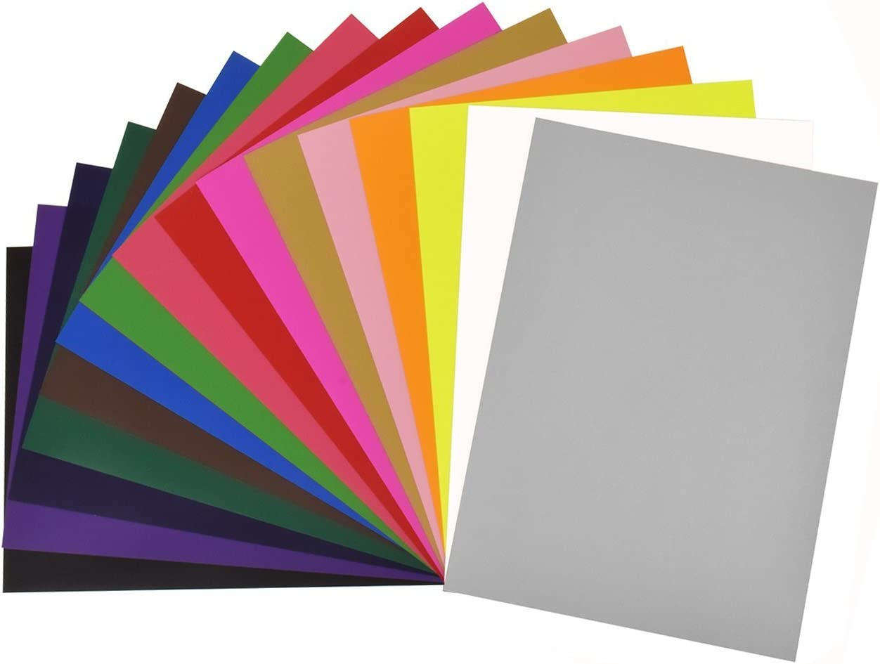 16 pcs papeles de transferencia para tejido camiseta A4 papel transferencia de calor decoración para regalo DIY personalidad: Amazon.es: Oficina y papelería