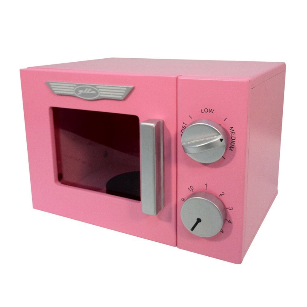 A+ Childsupply, Inc. Pink Retro Microwave by A+ Childsupply, Inc.