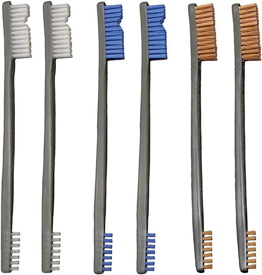 Otis Technology 3 Nylon/3 Bronze/3 Blue Nylon 9 Pack AP Brushes