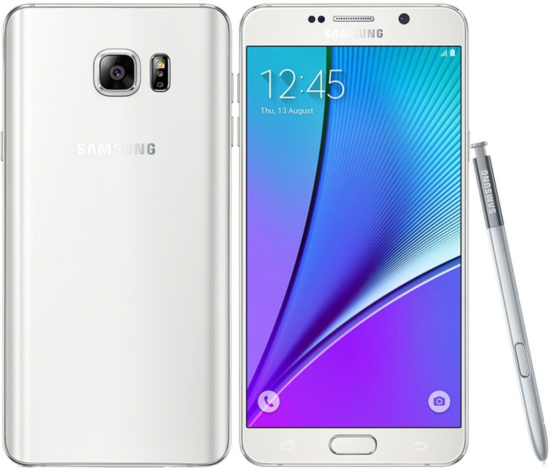 Galaxy NOTE 5 blanc Import| 4G | écran 5.7 pcs | 2560 x 1440 super AMOLED | 4Go de RAM...