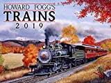 img - for Howard Foggs Trains 2019 Calendar Classic Rail Paintings book / textbook / text book