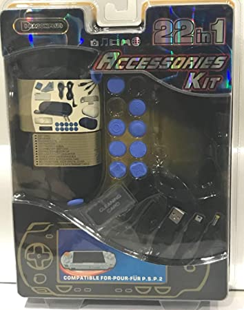 Amazon.com: Dragonplus 22 en 1 Accesories Kit PSP: Sports ...