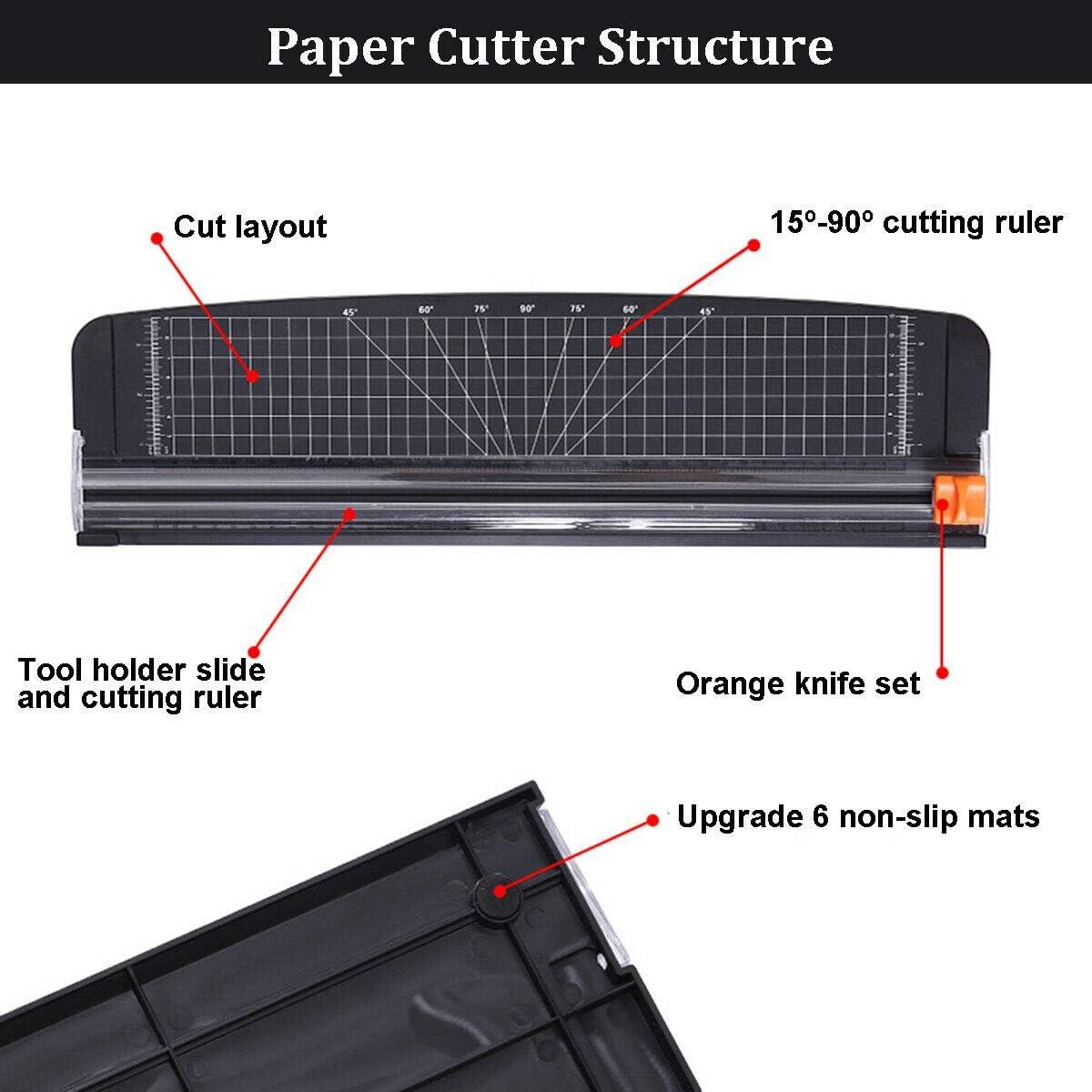 A3 pu/ò tagliare taglierina di carta per carta fotografica con larghezza di taglio di 420 mm