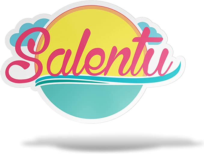 Erreinge Aufkleber Salento Apulien Italien Aufkleber Pvc Form Für Abziehbild Tapete Auto Moto Helm Camper Laptop 10 Cm Auto