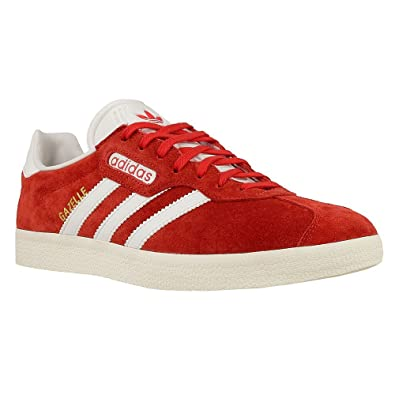 adidas - Gazelle Super - BB5242 - Couleur: Blanc-Rouge - Pointure: 45.3