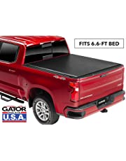 Gator ETX Soft Roll Up Truck Bed Tonneau Cover | 137265 | fits 2019 GMC Sierra/Chevy Silverado 1500 (New Body Style), 6.6' Bed | Made in the USA