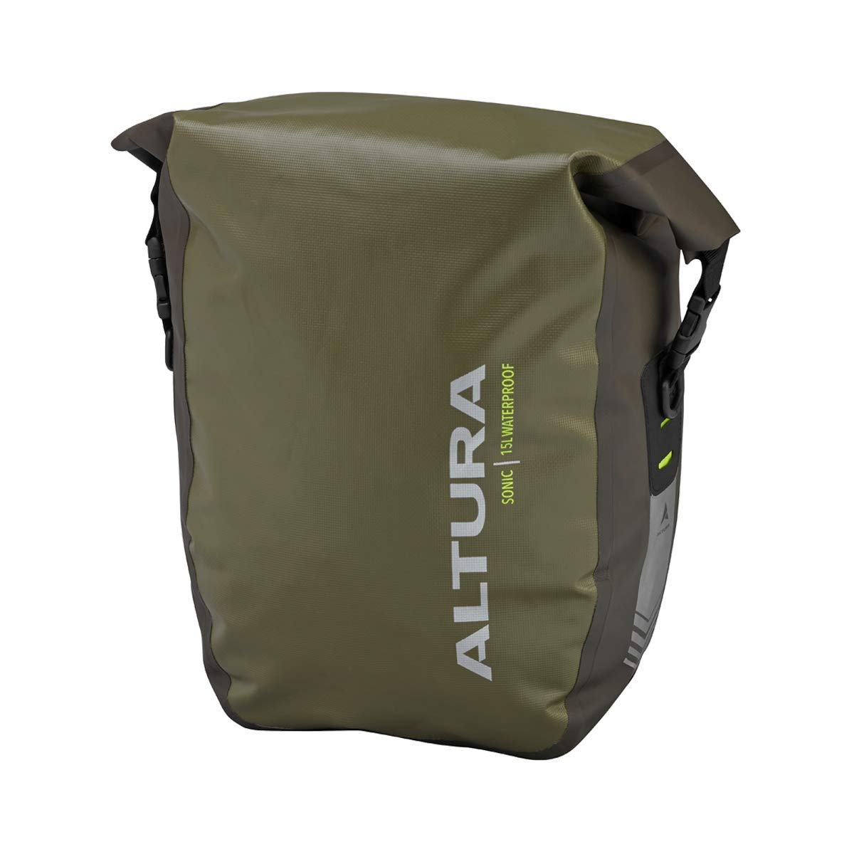 Altura Sonic 15 Waterproof Pannier schwarz Single