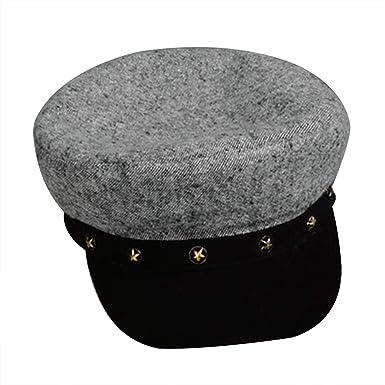 Mastojonster Vintage Hats for Women Fashion Military Hat Gorras Planas Snapback Caps Female Casquette Sun Hat