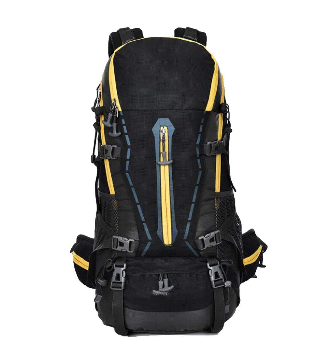 FEIYUESS Großraum Bergsteigenbeutel beiläufige Außentasche kampierende Beutelart und weisemänner und -Frauen Schulterbeutel 45L