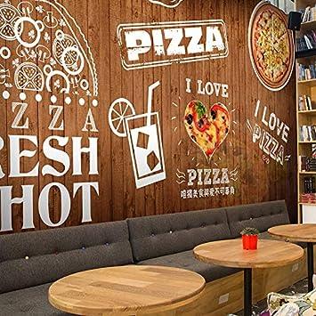 BZDHWWH Tamaño Personalizado Foto Vintage Madera Sushi Pizza ...