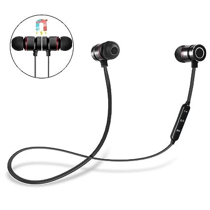 Auriculares Bluetooth, DIANJIE 4.1 Magnéticos In-ear Cascos Deportivos Inalámbricos con Mic,Auriculares