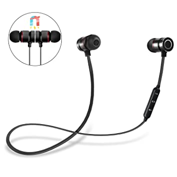 Auriculares Bluetooth, DIANJIE 4.1 Magnéticos In-ear Cascos ...