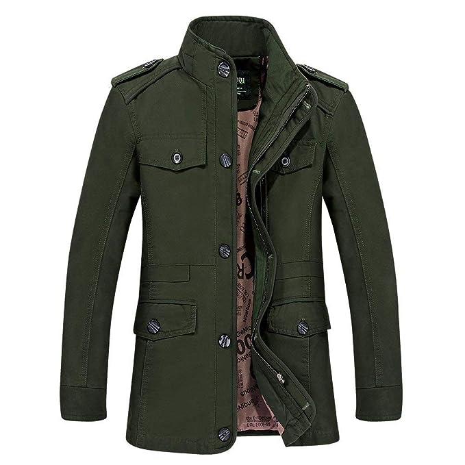 Saoye Fashion Ibaste Abrigo De Invierno De La Chaqueta De Ropa Los Hombres Abrigo De Otoño