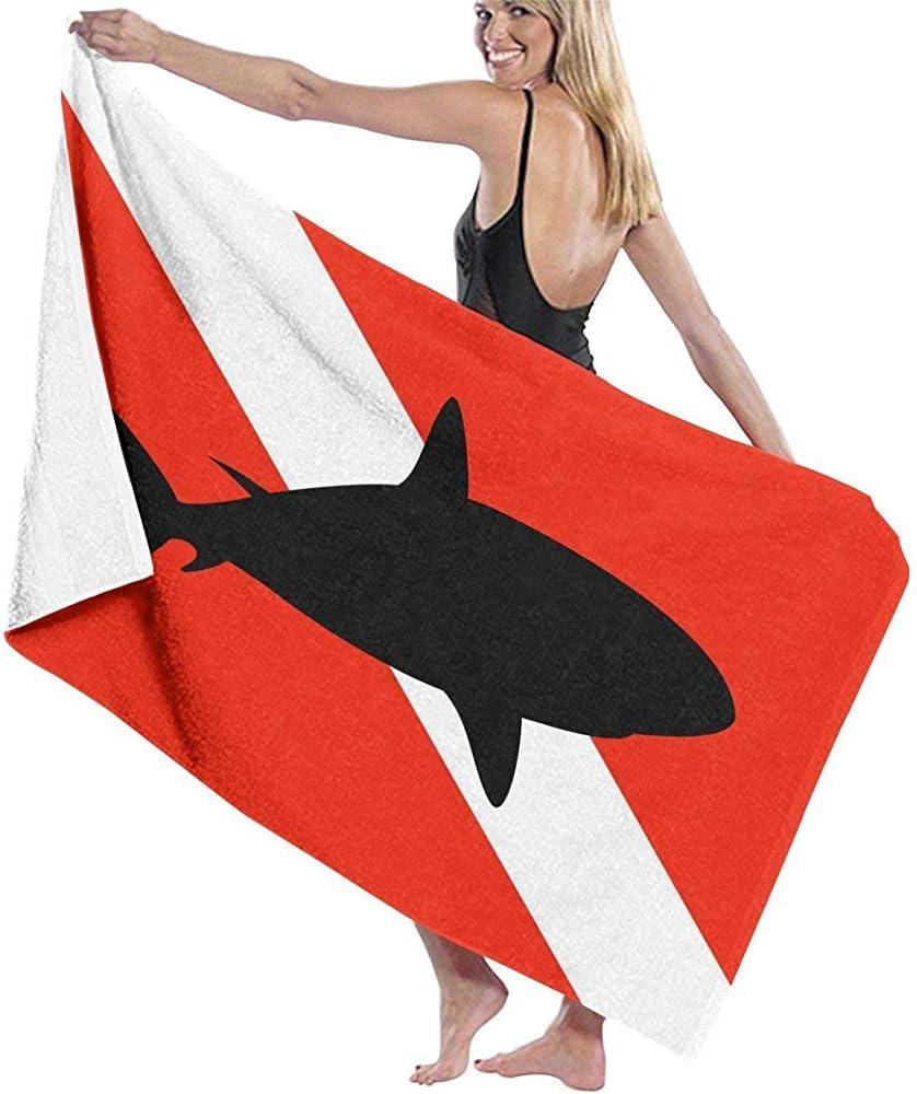 Sweeth Draps De Bain,D/ébarbouillette De Bain,Serviettes De Plage DAbsorption DHumidit/é De Requin De Plong/ée sous-Marine pour ladulte,LAdolescence