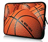 iColor Laptop Bag Tablet PC Sleeve 11.6' 12 12.1 12.2 inch Neoprene Computer Sleeve Cover Case Pouch For 11.6~12.5' Chromebook Ultrabook Notebook Computer-Basketball