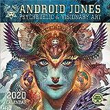 Android Jones 2020 Wall Calendar: Psychedelic