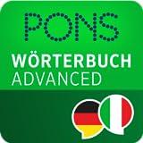 PONS Wörterbuch Italienisch - Deutsch ADVANCED